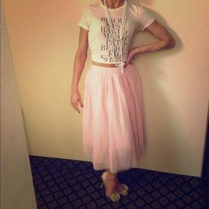 Dresses & Skirts - Pink tulle skirt